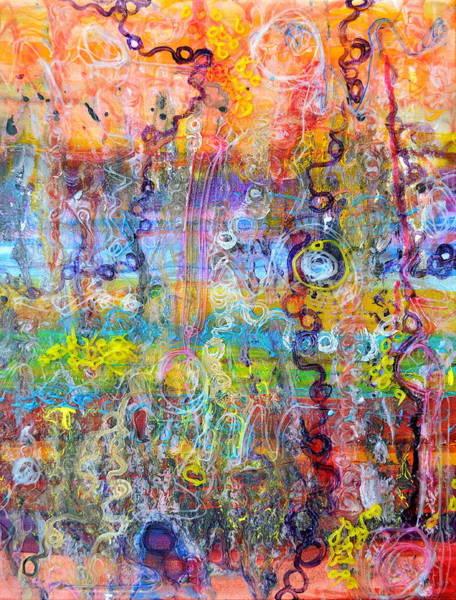 Painting - Heterotroph Hypothesis by Regina Valluzzi