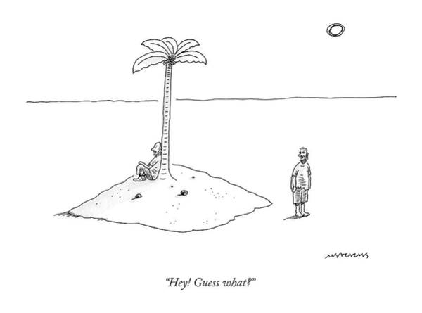 December 19th Drawing - Hey! Guess What? by Mick Stevens