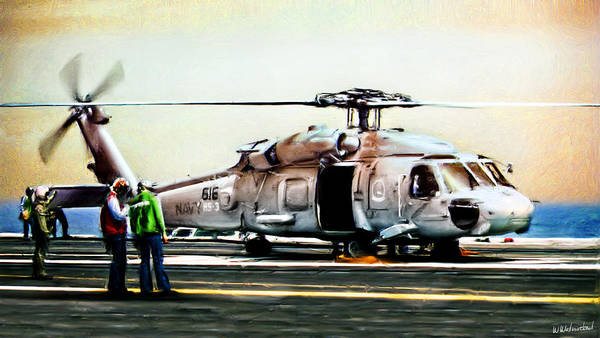 Hs Photograph - Hh-60h Rescue Hawk by Weston Westmoreland