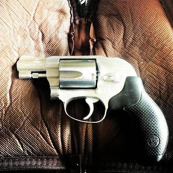 Handguns Photograph - Hhmm Time For A Cleaning...keep Him by Gary W Norman