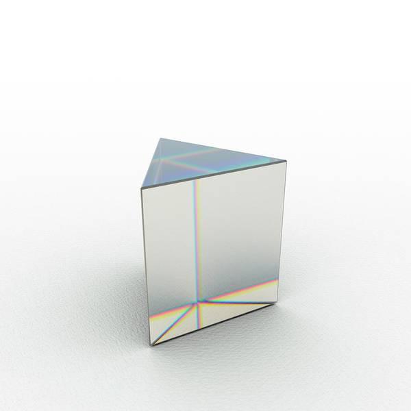 Wavelength Photograph - Hi Dispersion Prism by David Parker