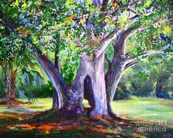 Painting - Hickory Hole by AnnaJo Vahle