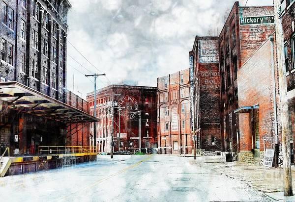 Liane Photograph - Hickory - Urban Building Row by Liane Wright
