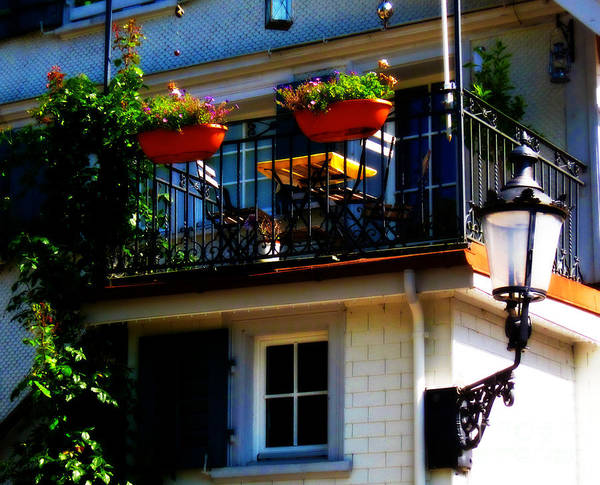 Photograph - Hidden Away Balcony by Susanne Van Hulst