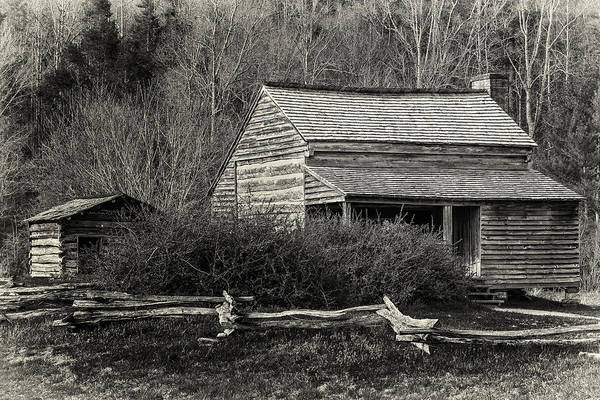 Cades Cove Photograph - Hidden Away by Mike Lang