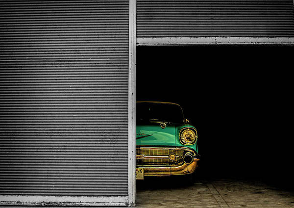 Old Car Wall Art - Photograph - Hidden Beauty by Umut Aydin