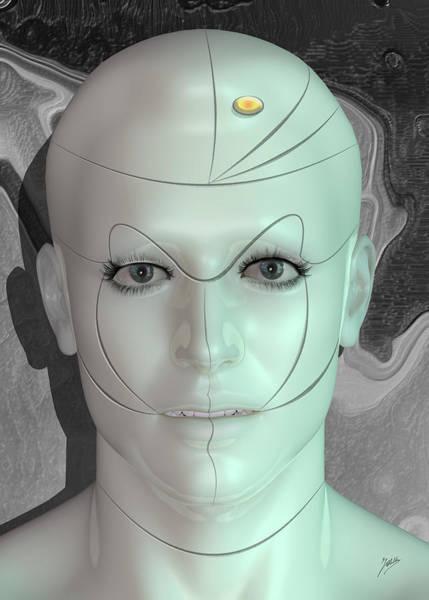Wall Art - Digital Art - Robot Pleasure by Quim Abella