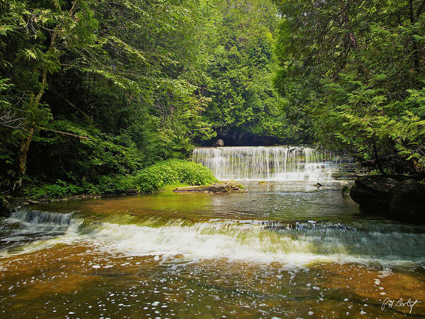 Hockley Valley Photograph - Hidden Falls by Phill Doherty