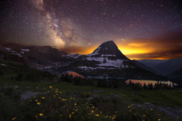 Art Print featuring the photograph Hidden Galaxy by Dustin  LeFevre