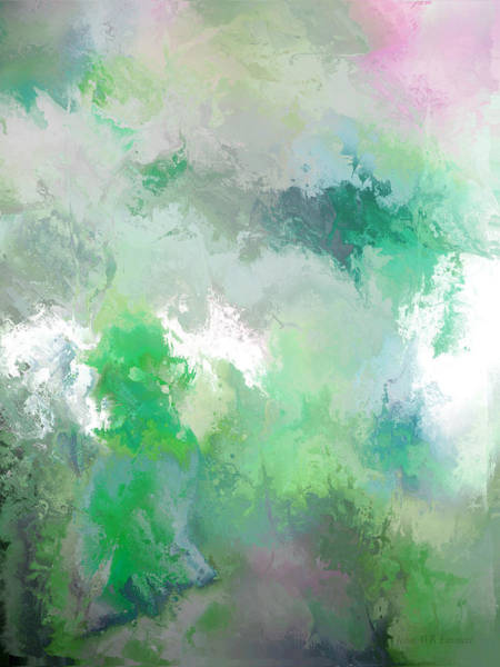 Painting - hidden valley II by John WR Emmett