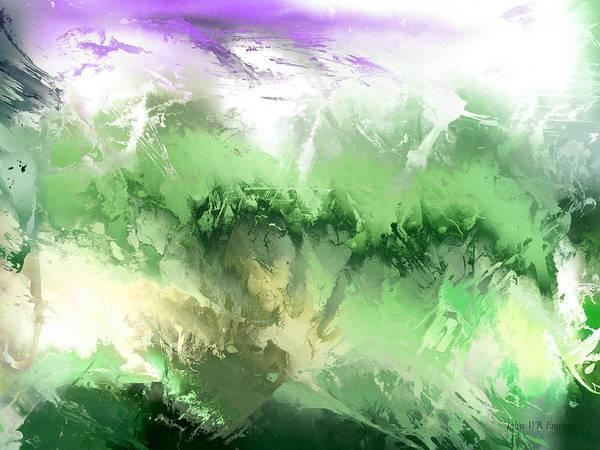 Painting - hidden valley VII by John WR Emmett