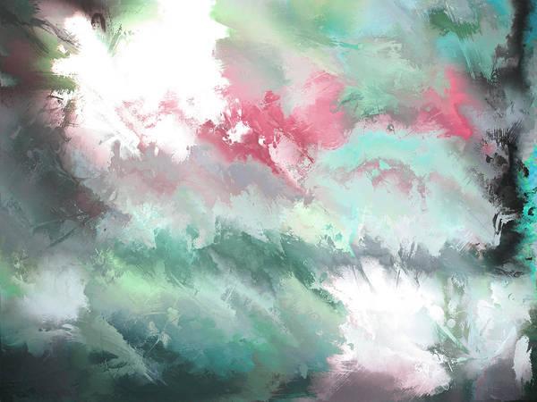Painting - hidden valley XIII by John WR Emmett