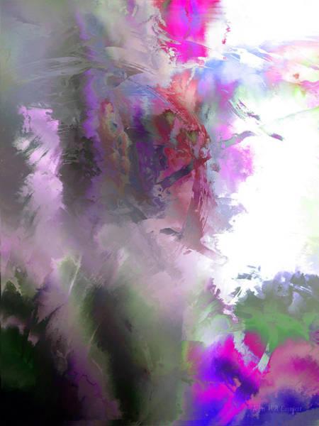 Painting - hidden valley XV by John WR Emmett