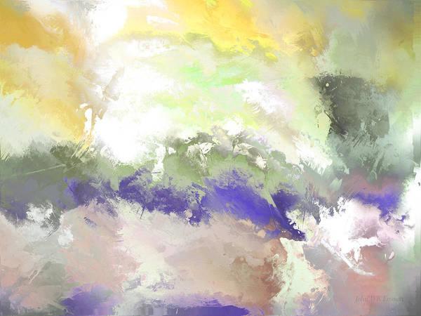 Painting - hidden valley XVI by John WR Emmett