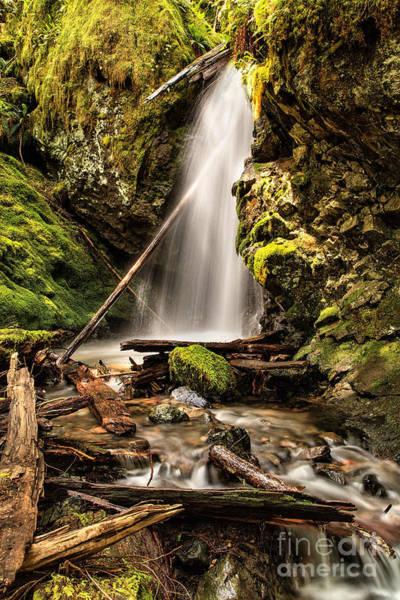 Photograph - Hidden Waterfall by Stuart Gordon