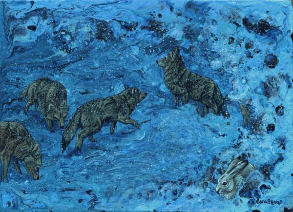 Seek Painting - Hide And Seek by Cara Bevan