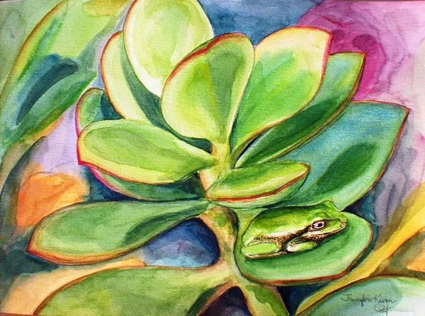 Seek Painting - Hide And Seek by Jennifer Kwon