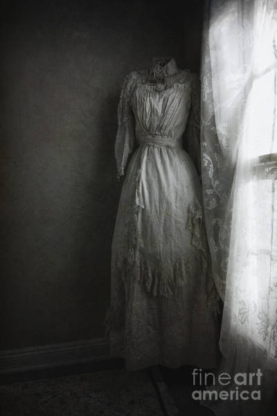 Dress Form Photograph - Hiding In The Corner by Margie Hurwich
