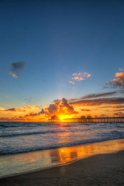 Oceanfront Photograph - Hiding Sunset by Andrew Slater
