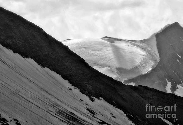 High Alpine Region In Austria Art Print