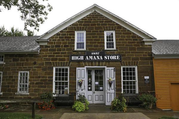 Amana Wall Art - Photograph - High Amana Store by Lynn Sprowl