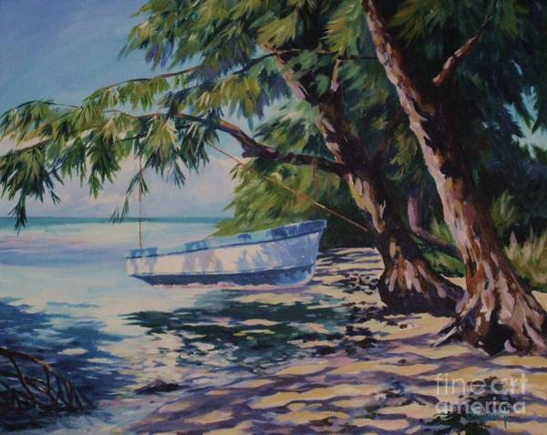 Cayman Painting - High And Dry by John Clark