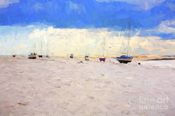 Leigh On Sea Photograph - High And Dry by Sheila Smart Fine Art Photography