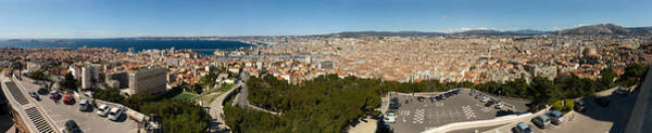 Friuli Photograph - High Angle View Of A City, Marseille by Panoramic Images