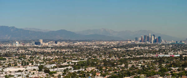 Mt. Wilson Photograph - High Angle View Of A City, Mt Wilson by Panoramic Images