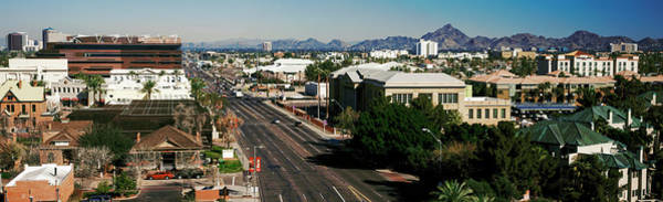 Maricopa Photograph - High Angle View Of A City, Phoenix by Panoramic Images