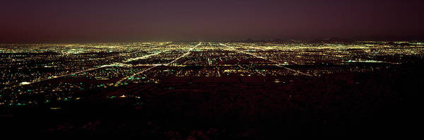 Maricopa Photograph - High Angle View Of A City, South by Panoramic Images