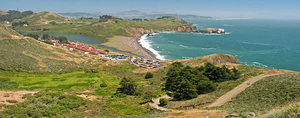 Marin Headlands Photograph - High Angle View Of A Coast, Marin by Panoramic Images