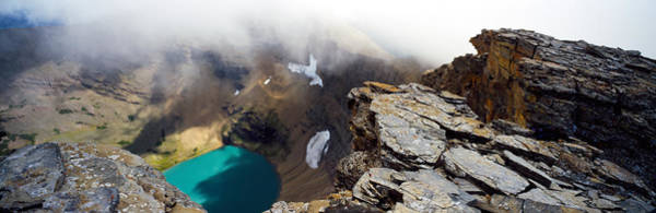 Continental Divide Photograph - High Angle View Of A Lake, Continental by Panoramic Images