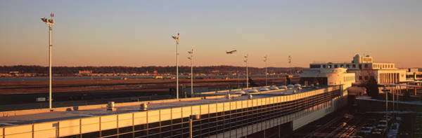 Ronald Reagan Photograph - High Angle View Of An Airport, Ronald by Panoramic Images