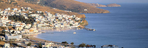 Andros Photograph - High Angle View Of Buildings by Panoramic Images