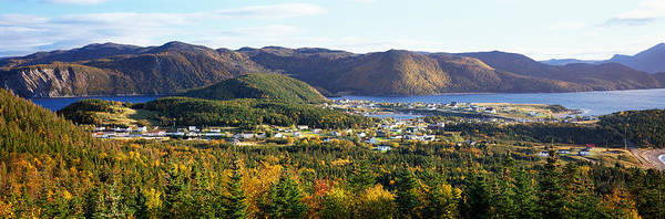 Gros Morne Photograph - High Angle View Of Norris Point by Panoramic Images