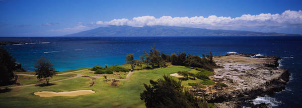 Kapalua Photograph - High Angle View Of The Bay Course by Panoramic Images