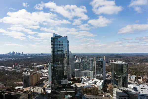 Fulton County Photograph - High Angle View Of The Buckhead by Panoramic Images