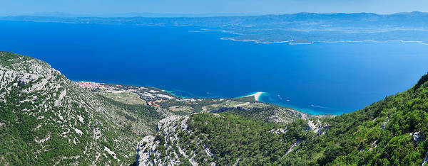 Wall Art - Photograph - High Angle View Of The Hvar Island by Panoramic Images