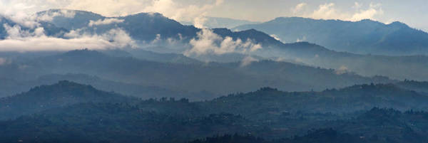 Rwanda Photograph - High Angle View Of The Volcanoes by Panoramic Images