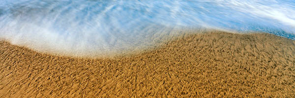 Baja California Peninsula Wall Art - Photograph - High Angle View Of Waves On The Beach by Panoramic Images