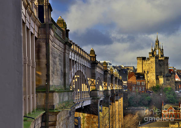 Photograph - High Level Bridge Newcastle Upon Tyne Uk by Martyn Arnold