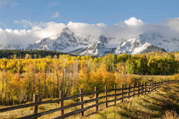 Wall Art - Photograph - High Country by Aaron Spong