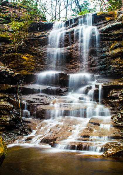 Photograph - High Falls At Moss Rock Preserve by Parker Cunningham