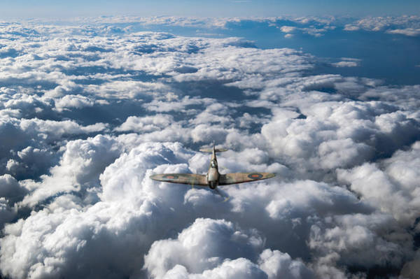 Photograph - High Flight Spitfire  by Gary Eason