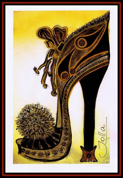 Painting - High Heel Heaven by Jolanta Anna Karolska
