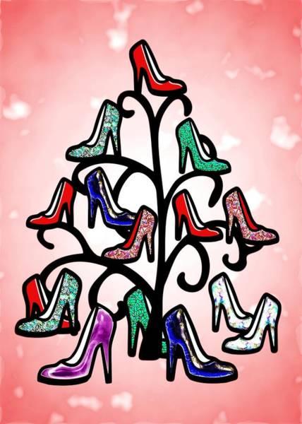 Digital Art - High Heels Tree by Anastasiya Malakhova