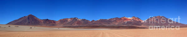 Photograph - High In The Deserts Of South Lipez Bolivia by James Brunker