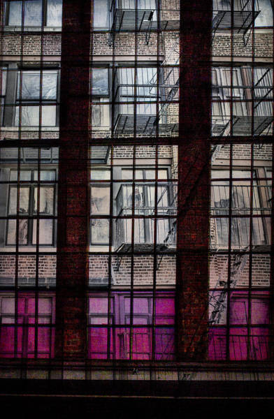 Photograph - High Line Lines by Evie Carrier