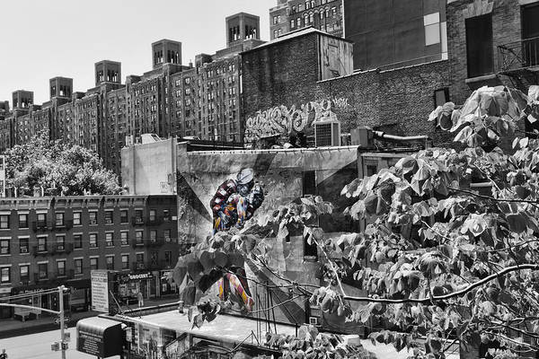 Photograph - High Line Urban View Black And White by Evie Carrier